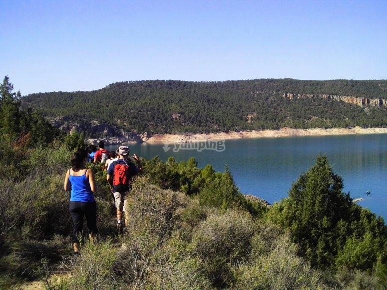 Hiking trip through the Hoces de Cabriel