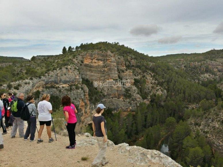 Hiking miradores en Hocel del Cabriel