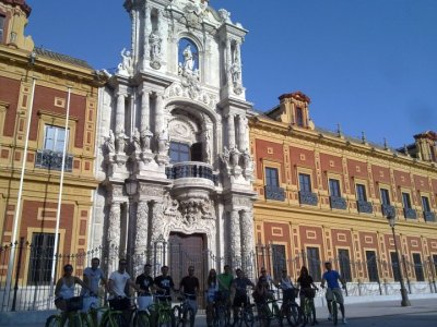 Sevilla Bike Tour Team Building