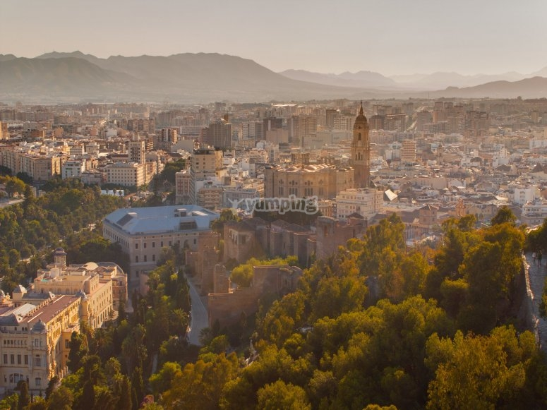 Urban areas of Málaga