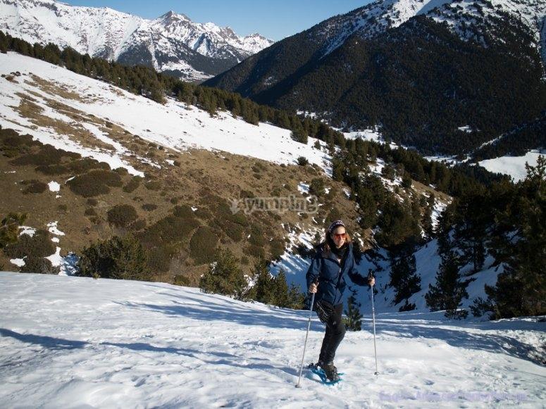 Raquetas de nieve por Valle de Sorteny