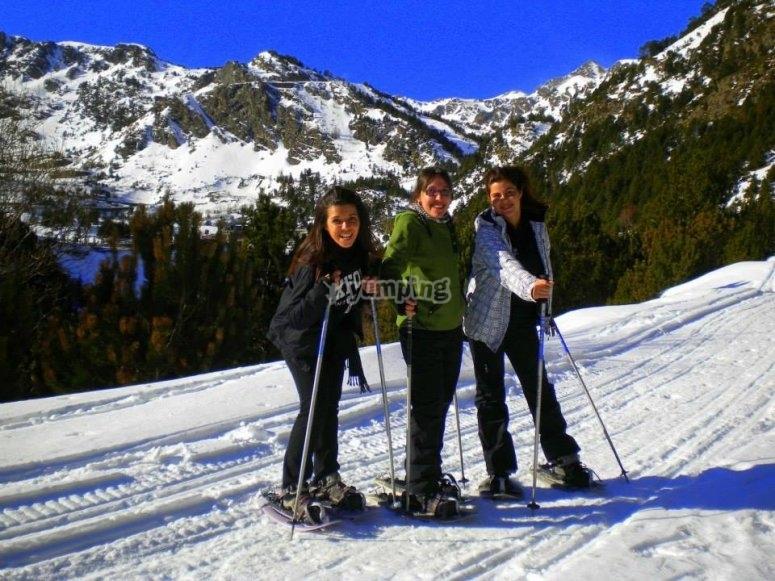 Excursión con raquetas de nieve Sorteny