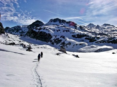 Itinerario in ciaspole Sorteny Valley 2-3 h
