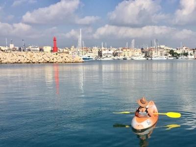 Alquiler de kayak en Salou 1 hora