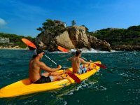 Double-seat kayak rental in Cambrils 1h