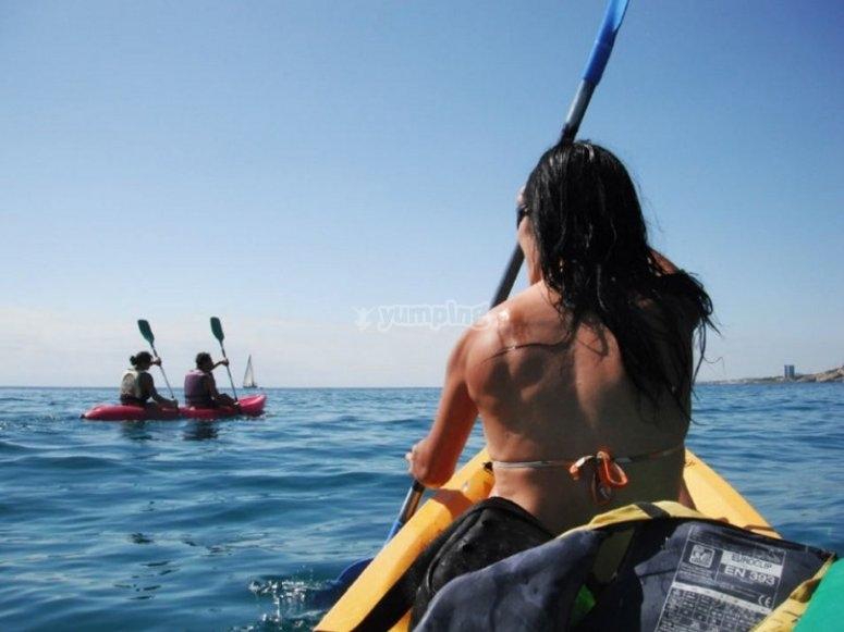 Vivere kayak canoa