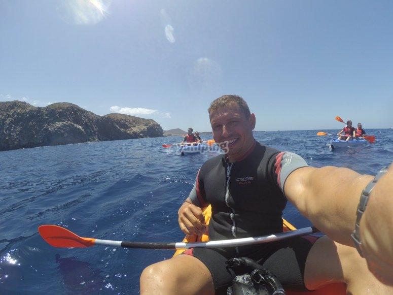 Paseo en kayak La Lajita