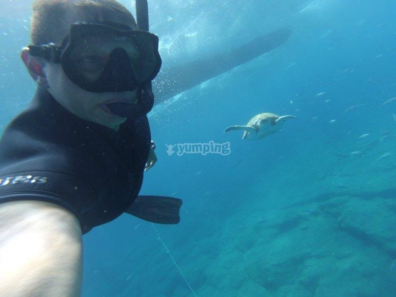 Snorkel en La Lajita