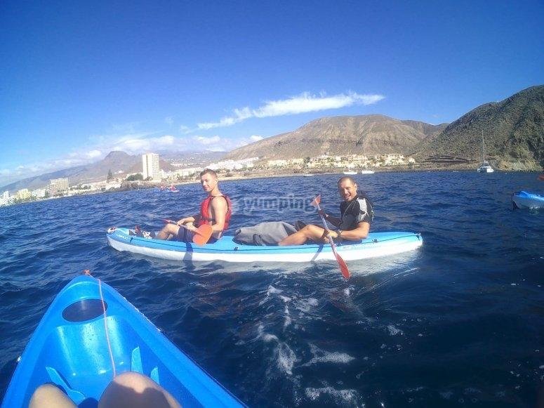 Ruta en kayak desde La Lajita
