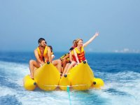 Paseo en banana boat por Salou 15 min