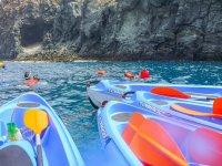 Ruta en kayak desde playa La Lajita 2 horas