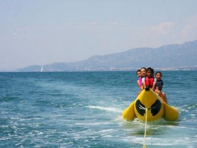 Paseo en banana boat por Cambrils 15 min
