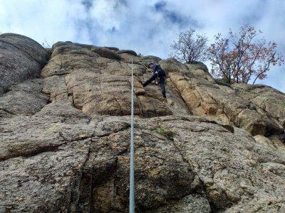 Sesión de escalada en río Tajo Toledo 7h