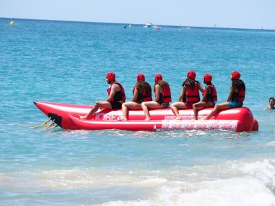 Giro in banana boat L´Hospitalet de l´Infant 15 min