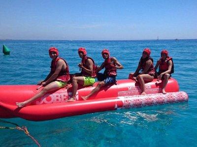 Paseo en banana boat por L´Ametlla de Mar 15 min