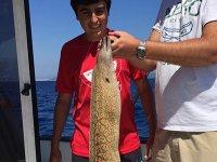 Pesca en la costa Brava
