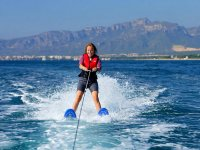 Water skiing in Salou for 15 min