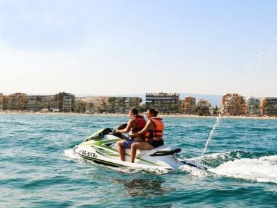 Circuito en moto de agua por Salou 15 min