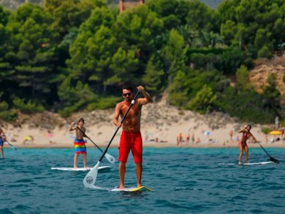 Paddle Surf equipment rental in Salou 1 hour