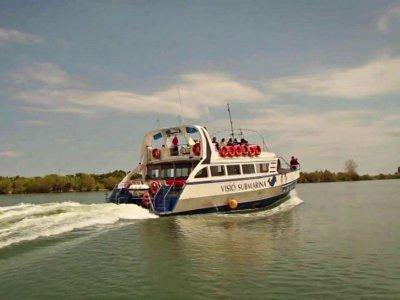 Paseo en barco por el Delta del Ebro niños 1h30m