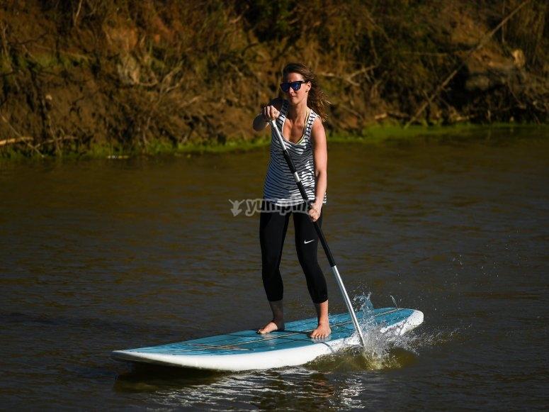 Ruta de paddle surf por Gijón