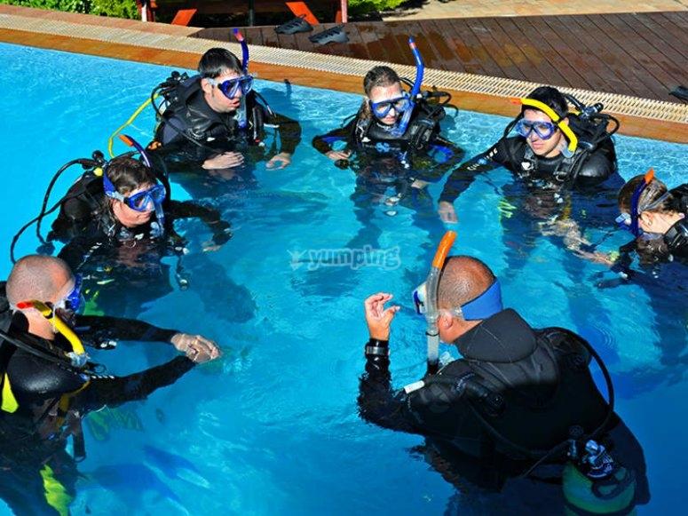 出海前潜水课