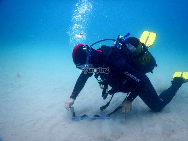 阿梅特拉德潜水课程