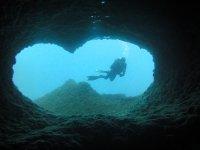 按地点潜水-难以置信的
