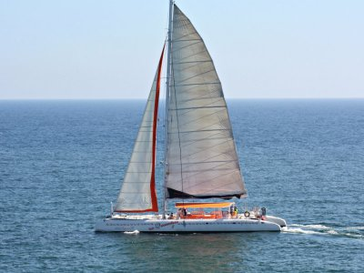 Catamaran tour and BBQ and open bar Cambrils