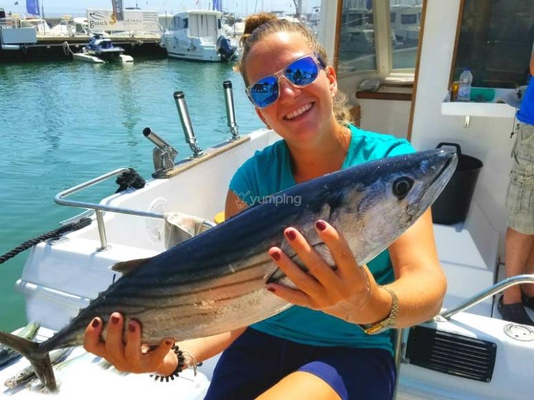 坎布里尔斯钓鱼捕捞