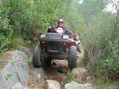 Ruta en quad por entorno de Montroig 2 horas