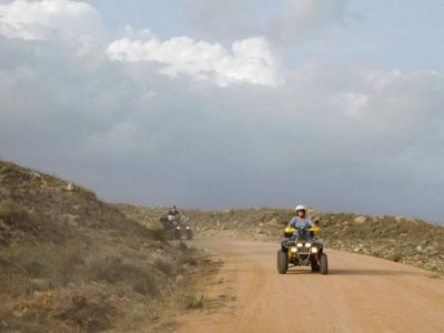 Individual quad route through Cañada Real 1 hour