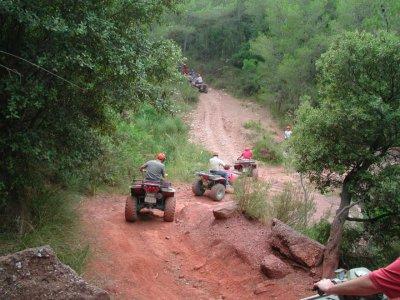 Excursión en quad por Riudecañas 3 horas