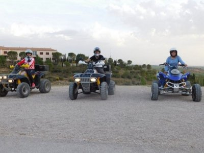 Two-seater quad route through Cañada Real 2h