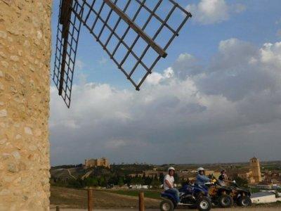Individual quad route e Don Quijote windmills 3h