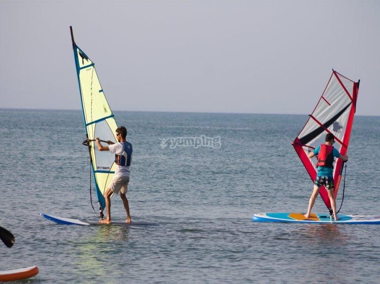 帆板入门课程
