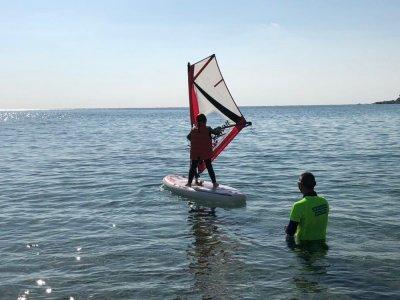 Curso iniciación de windsurf 2 días Playa Riumar