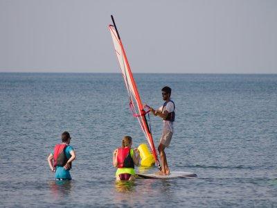 滑浪风帆课程2天Riumar海滩