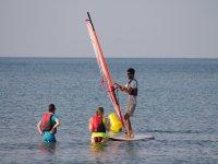 Riumar的帆板课程