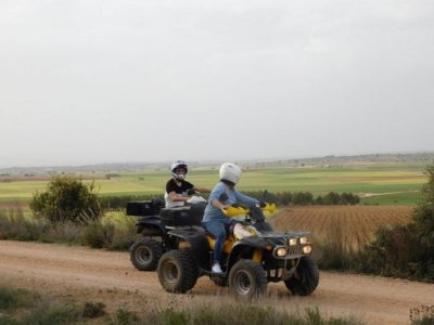 Two-seater quad route Molinos de Don Quijote 3h
