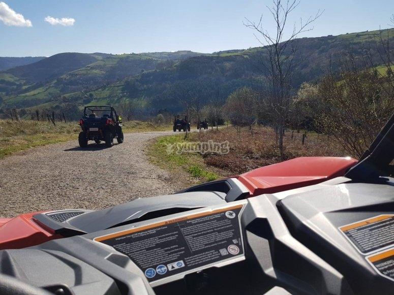 Excursión off road en buggy
