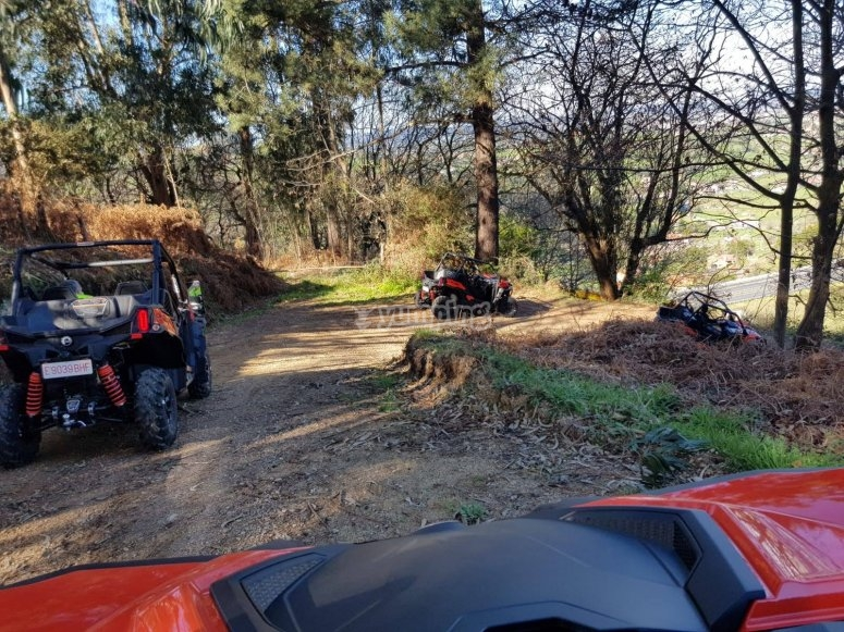 Caminos off road en Gijón con buggies