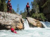 Chillapájaros水峡谷的下降3h