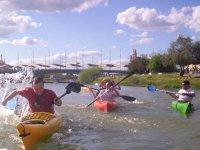 Tarde divertida con nuestra ruta en kayak