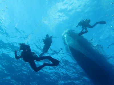 Curso de buceo Scuba Diver en Els Pujols