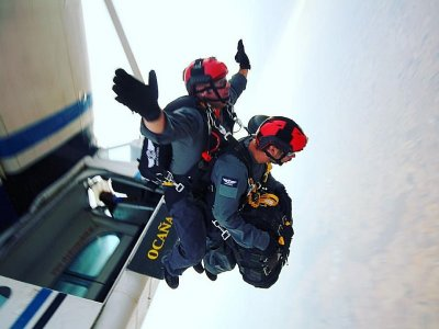 Parachute jump Low Demand Season Madrid