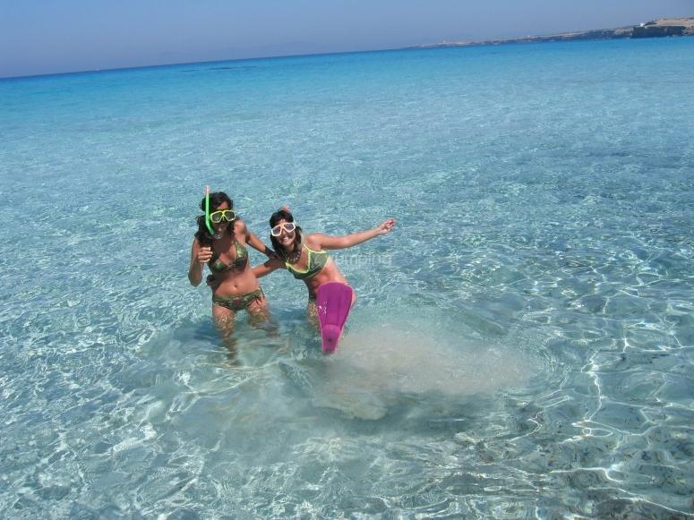 Snorkel en playas de Formentera