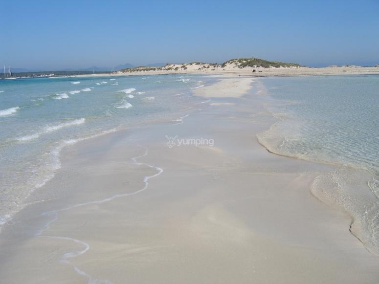 Excursión de snorkel en playas de Formentera