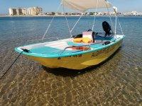 El barco de 4 metros