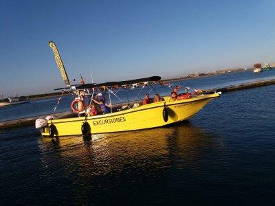 乘船穿越阿亚蒙特及其沼泽2小时